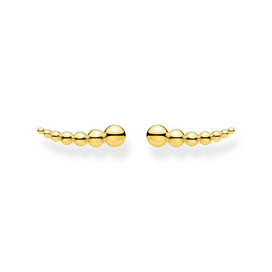 Picture of Gold Sphere Ear Climbers