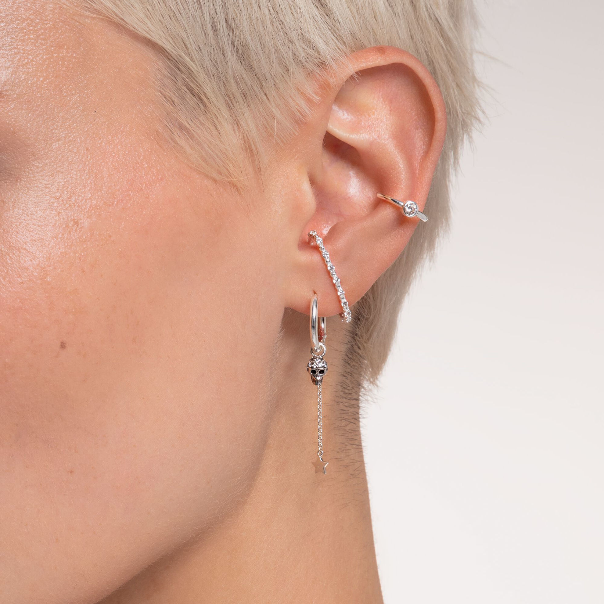 Picture of Silver Ear Cuff