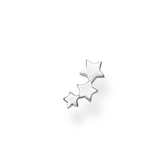 Picture of Single Piece Star Stud in Silver