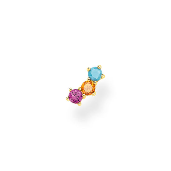 Picture of Single Piece Colourful Ear Stud