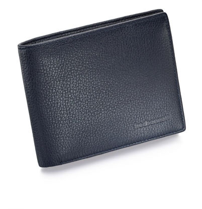 Picture of Genuine Leather Wallet in Navy