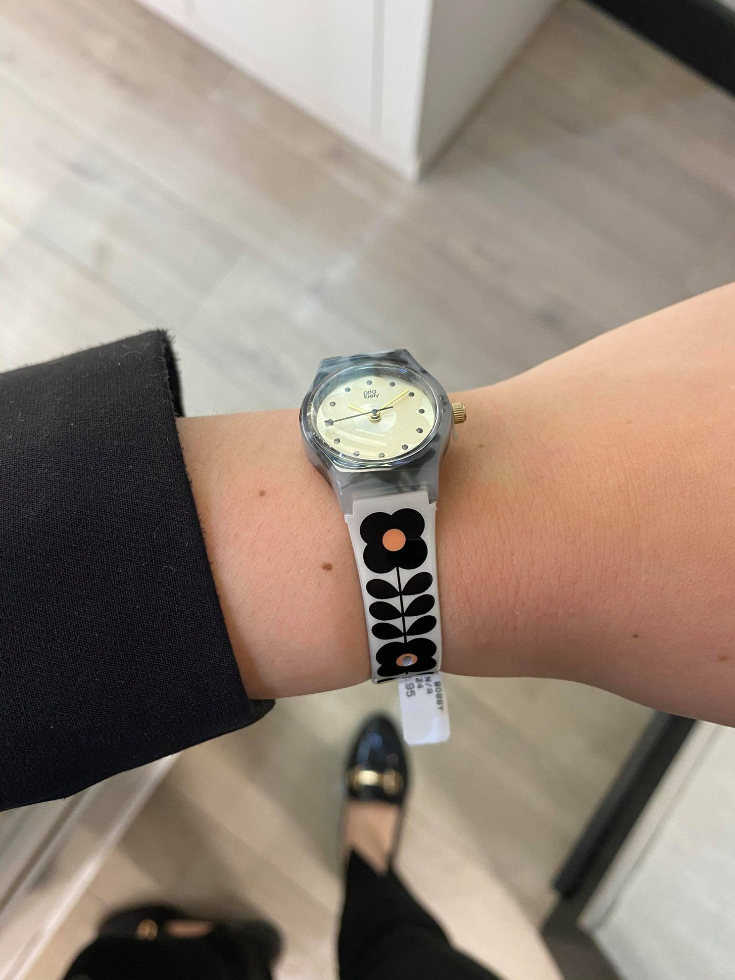 Picture of Orla Kiely Baby Bobby Watch in Mink