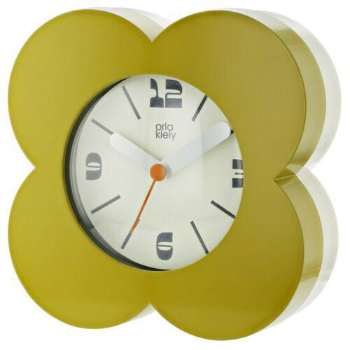 Picture of Orla Kiely Olive Green Alarm Clock