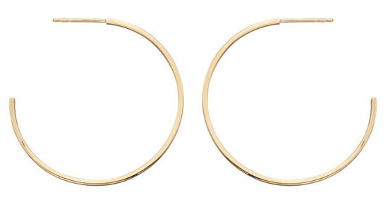 Picture of 40mm Gold Hoops