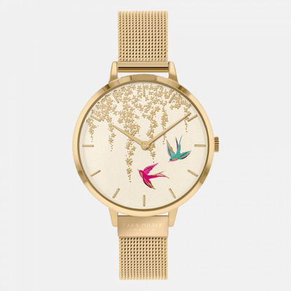 Picture of Swallow Gold Mesh Watch