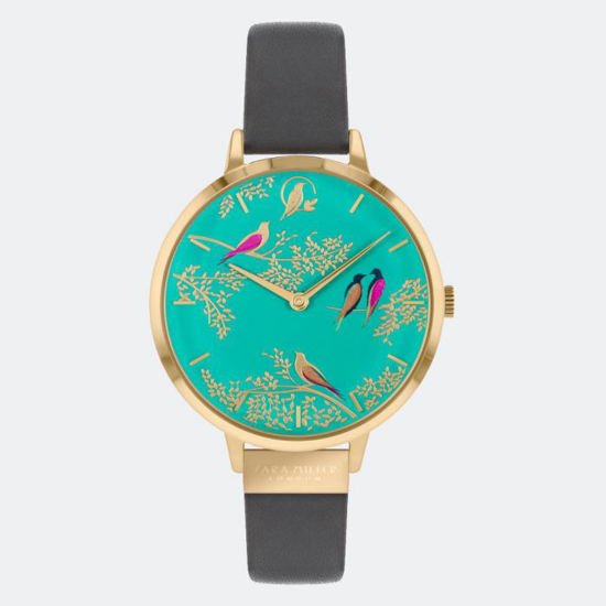 Picture of GREEN BIRDS GREY WATCH