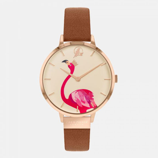 Picture of Flamingo Gold Tan Watch