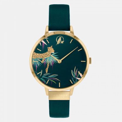 Picture of Forest Green Leopard Watch