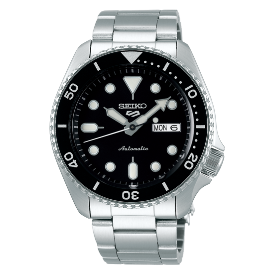 Picture of Seiko 5 Sport Automatic Black Dial Watch