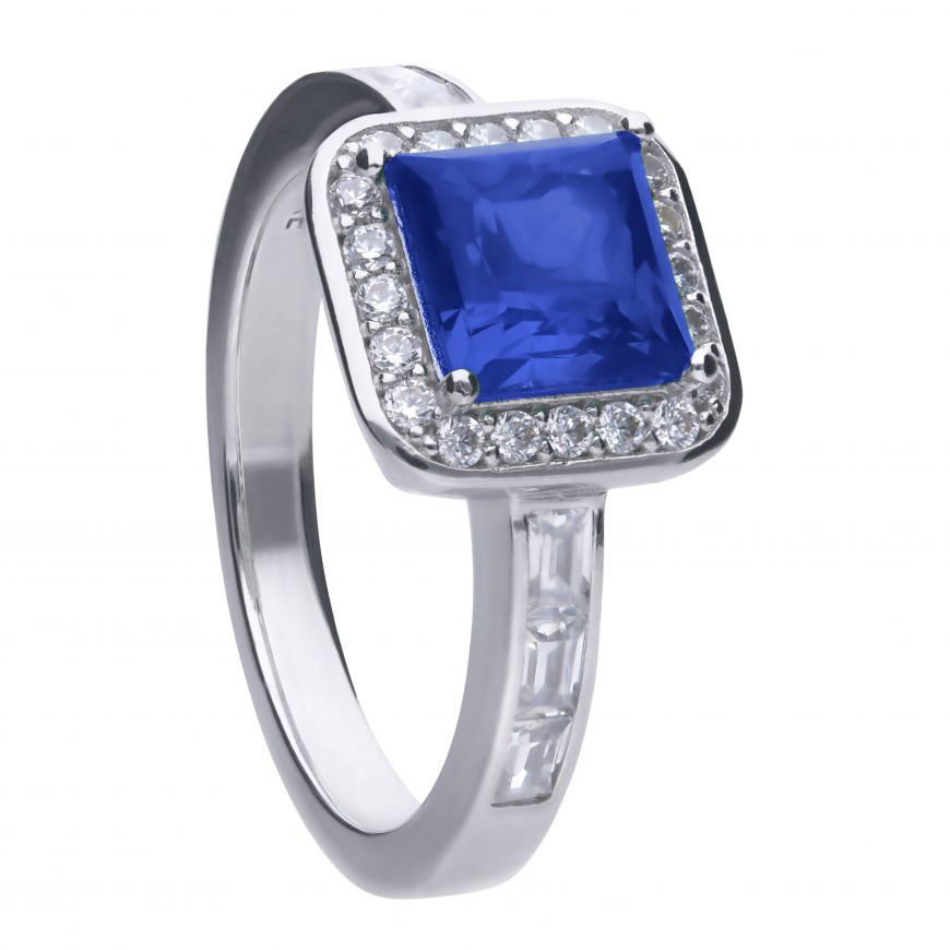 Picture of Sapphire Art Deco Vintage Ring