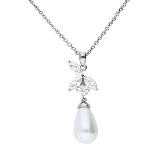 Picture of Marquise And Pearl Pendant