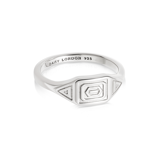 Picture of Artisan Stamped Ring Sterling Silver