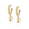Picture of Vita Athena Hoop Earrings 18Ct Gold Plate