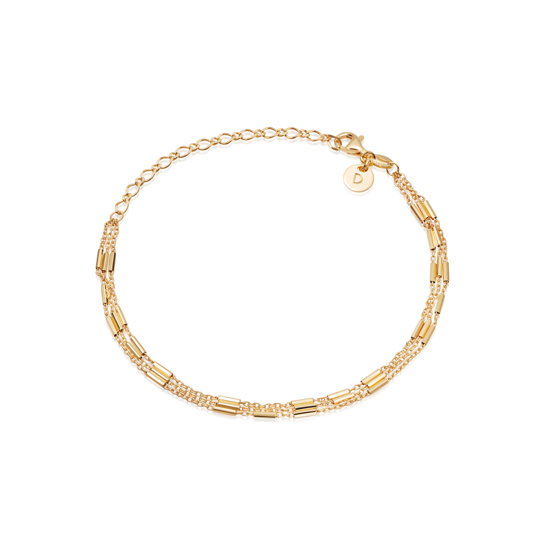 Picture of Artisan Bracelet 18ct Gold Plate