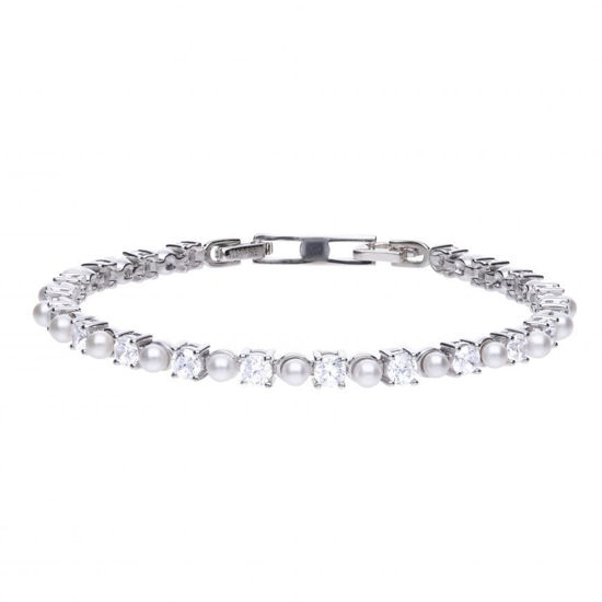 Picture of Pearl Tennis Bracelet