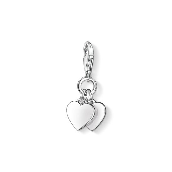 Picture of Two Heart Charm